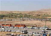اخبار اربعین 98  10 هزار خودرو در مرز خسروی پارک شده است