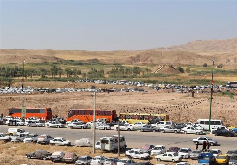 اخبار اربعین98|بالغ بر 17 هزار خودرو در پارکینگهای مرز شلمچه استقرار یافتهاند