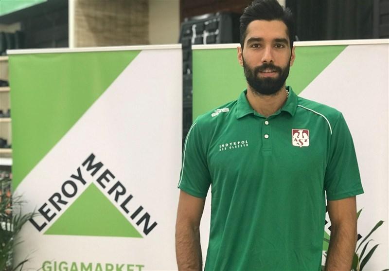 استقبال پرشور والیبال دوستان لهستانی از ستاره ایرانی + عکس