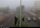 مه گرفتگی در جادههای خراسان رضوی/رانندگان احتیاط کنند
