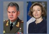 مذاکرات تلفنی وزرای دفاع روسیه و فرانسه