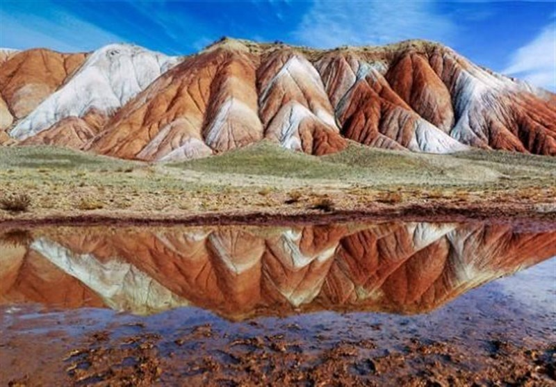 Rainbow Mountains in Northwest of Iran - Tourism news