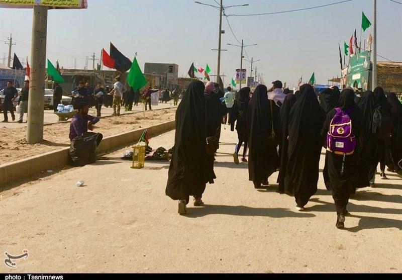 اخبار اربعین 98|افزایش جمعیت زائران اربعین 98 / نیاز جدی زائران به آب آشامیدنی در خاک عراق