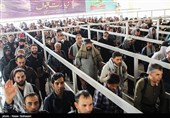 Iranian Pilgrims Crossing Mehran Border for Attending Arbaeen