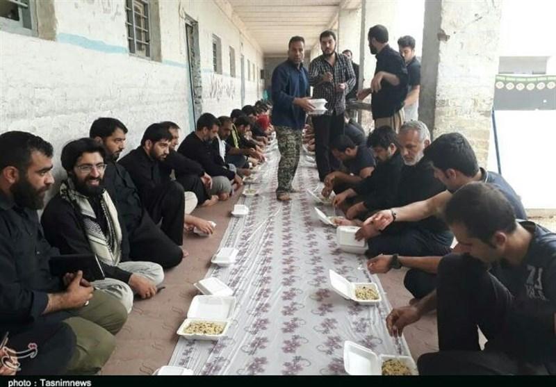 موکب تسنیم لرستان|تکاپوی خدمت به زائران اربعین در موکب مساکین الزهرا(س) خرمآباد