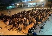 اخبار اربعین 98| شور و عشق خدمت به زائران سالار شهیدان در موکب شهید حسناوی + تصاویر