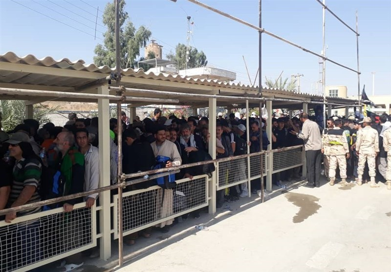 آخرین وضعیت مرز خسروی| اتوبوسهای مرز خسروی به کربلا و کاظمین اعزام میشوند