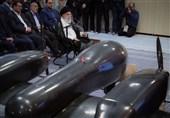 گزارش تسنیم از نمایش پهپاد جدید در جریان بازدید رهبری| برنامه ایران برای ساخت پهپادهای دو موتوره