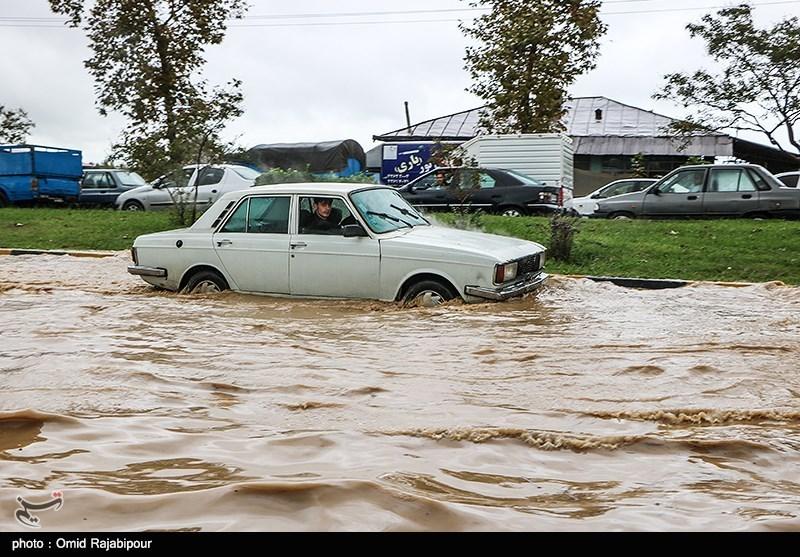 طغیان سه رودخانه فصلی در شهرستان رودان/ سیل در روستای سید سلطان محمد خساراتی به بار آورد