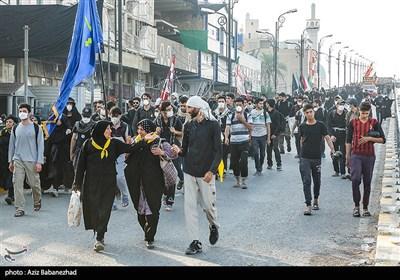پیاده روی اربعین حسینی در مسیر نجف به کربلا