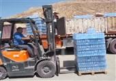 اخبار اربعین 98| |250 هزار بطری آب معدنی بین زائران اربعین در مرزهای مهران و شلمچه توزیع شد+تصاویر