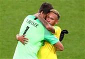 آلیسون: نیمار در هر تیمی میتواند بهترین بازیکن جهان شود/ مسی یکی از بهترین بازیکنان تاریخ فوتبال است