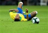 مصدومیت نیمار در دیدار برزیل و نیجریه