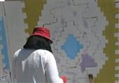 استاندار کهگیلویه و بویراحمد از روند اجرای جشنواره ملی دیوارنگاری یاسوج بازدید کرد+تصاویر