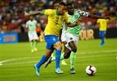 توقف برزیل مقابل نیجریه در دیداری دوستانه