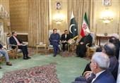 روحانی در دیدار عمران خان: ایران آماده گفتگو و همکاری با همه کشورهای منطقه است