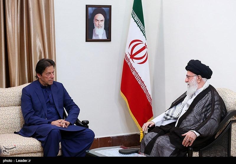 نخستوزیر پاکستان با رهبر معظم انقلاب دیدار کرد