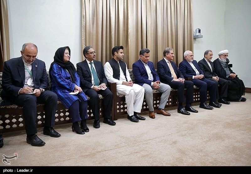 دیدار نخست وزیر پاکستان با رهبر معظم انقلاب