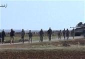 استقرار ارتش سوریه در دو طرف بزرگراه استراتژیک پس از شکست تروریستها+عکس