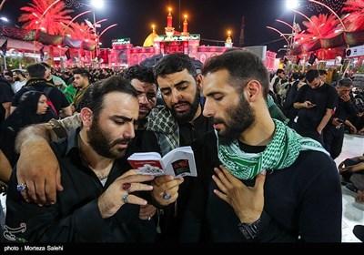 أجواء بين الحرمين على أعتاب أربعين الامام الحسين (ع)