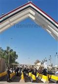 """هیچ محدودیتی برای تردد خودروها در مسیرهای استان کرمانشاه نیست/خروج زائران بدون معطلی از """"مرز خسروی"""" صورت میگیرد+ تصویر"""
