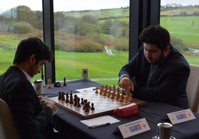 تساوی ارزشمند پرهام مقصودلو مقابل سوپر استاد بزرگ شطرنج چینى در مسابقات بزرگ سوئیس