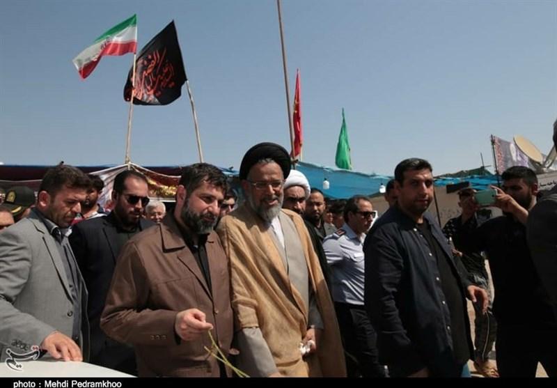 اخبار اربعین 98|بازدید وزیر اطلاعات از پایانه مرزی شلمچه + تصویر