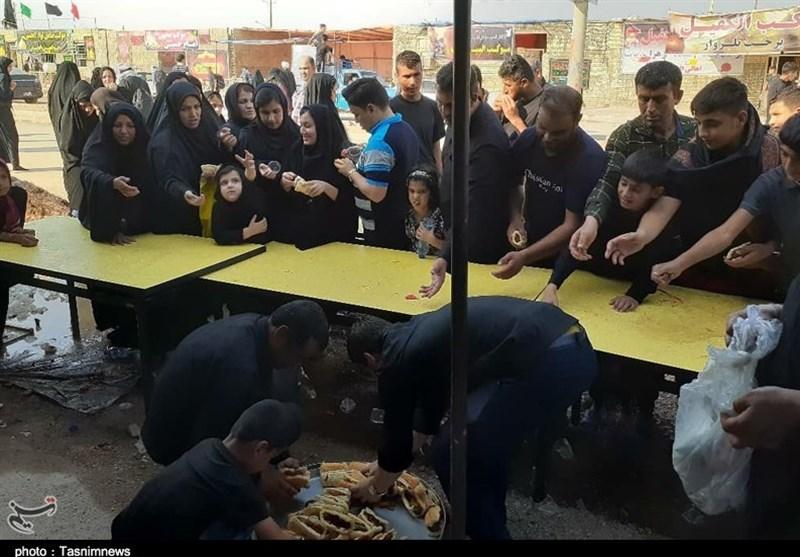 اخبار اربعین 98|حضور عاشورایی دانشگاه آزاد خوزستان در خدماترسانی به زائران اربعین
