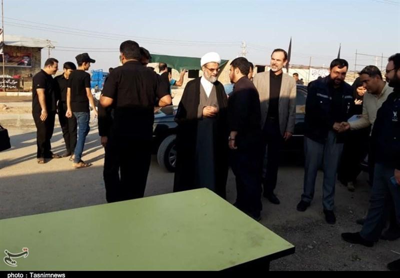 اخبار اربعین 98| رئیس سازمان تبلغات اسلامی در جمع خادمان مواکب چذابه حضور یافت