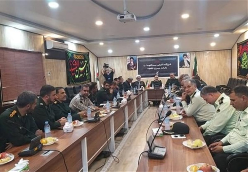 حضور رئیس سازمان اطلاعات سپاه در مرز شلمچه / جلسه مشترک با سرلشکر سلامی