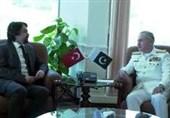 ترک سفیر کی سربراہ پاک بحریہ سے ملاقات