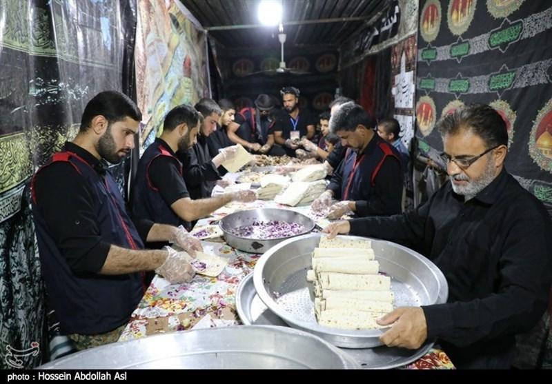 اخبار اربعین 98  شور خدمت رسانی به زائرین حسینی در پایانه مرزی شلمچه+ تصویر