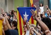 هفتمین شب اعتراضات سراسری در کاتالونیا