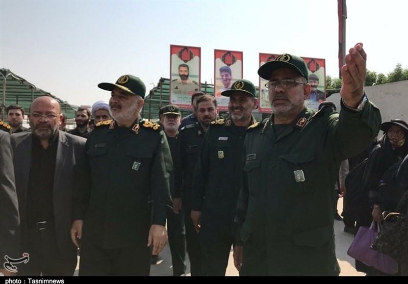 بهرهبرداری از 1200 پروژه محرومیتزدایی سپاه با حضور سرلشکر سلامی در استان البرز + تصاویر