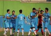 پیروزی تیم فوتبال پیکان مقابل نساجی در دیداری تدارکاتی