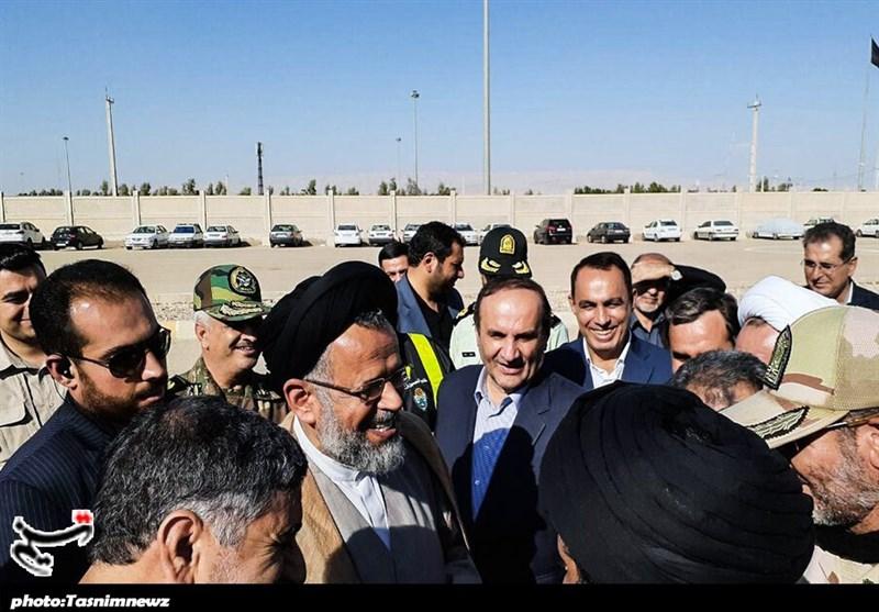 اخبار اربعین 98  بازدید وزیر اطلاعات از مرز مهران + تصاویر