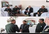 دیدار صمیمی فرمانده سپاه کردستان با خانواده شهید «جواد عبدی»+تصاویر
