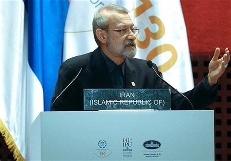 ایران شام میں استحکام اور سلامتی کے لئے کوشاں رہے گا، لاریجانی