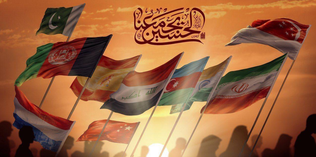 پوستر , خانه طراحان انقلاب اسلامی , اربعین حسینی| راهپیمایی اربعین , موکب تسنیم ,