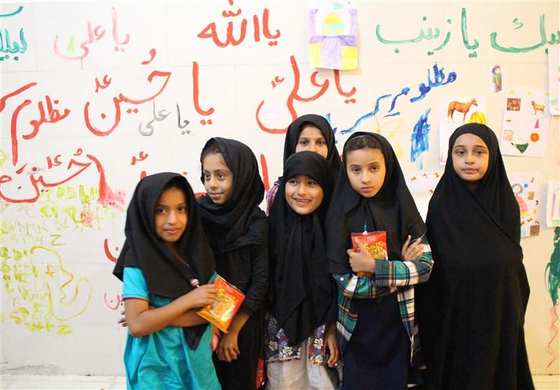 """مهدکودک """"بچههای حسینی"""" محفلی برای کودکان پاکستانی + فیلم"""