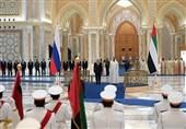 پوتین: مواضع روسیه و امارات در مسائل جهانی و منطقهای هماهنگ است