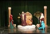 اجرای سوگنامه نمایشی «زلالتر از باران» در کاشان به روایت تصویر
