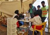 ویزیت روزانه 6 هزار زائر بیمار در درمانگاههای هلال احمر ایران در کشور عراق