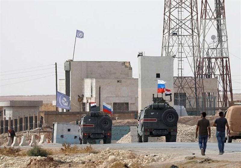 نخستین گشتزنی پلیس نظامی روسیه در شهر منبج