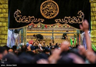 حرم مطهر حضرت ابوالفضل (ع) در آستانه اربعین حسینی