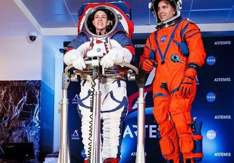 لباسهای جدید ناسا برای سفر به ماه رونمایی شد + تصاویر