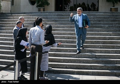 عبدالرضا رحمانیفضلی وزیر کشور در حاشیه جلسه هیئت دولت