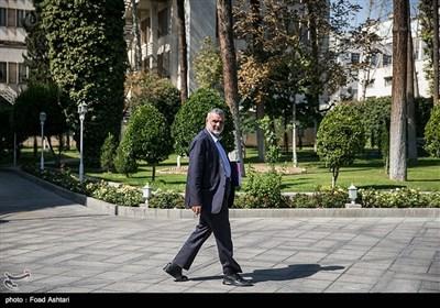 محمود حجتی وزیر جهاد کشاورزی درحاشیه جلسه هیئت دولت