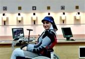 تیراندازی معلولان قهرمانی جهان| رقیه شجاعی در رده پنجم ایستاد و سهمیه پارالمپیک گرفت