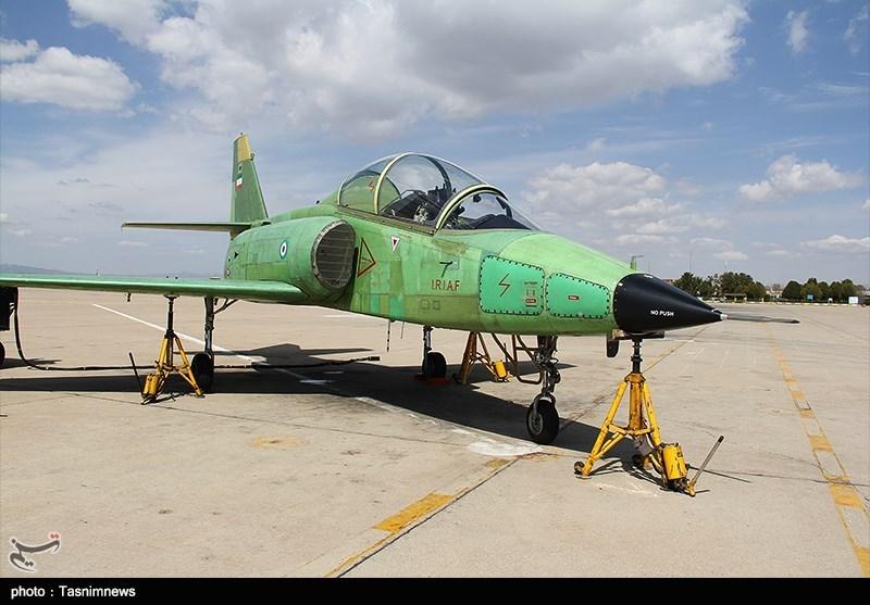 اولین هواپیمای جت آموزشی-رزمی ساخت ایران با نام «یاسین» رونمایی شد+مشخصات
